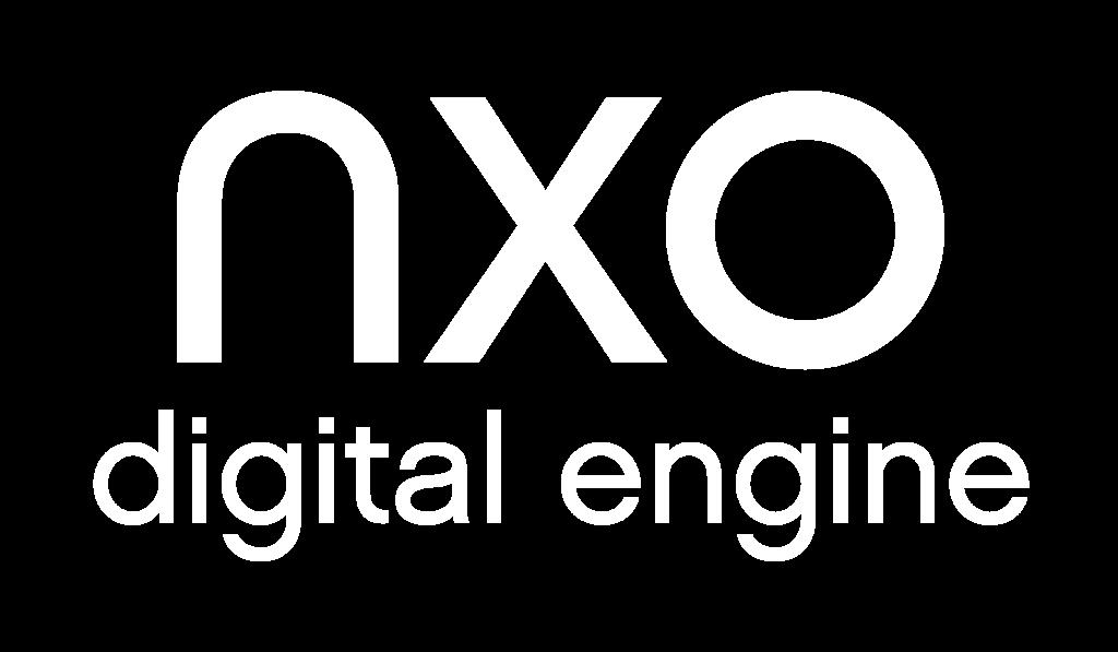 Logo NXO Digital Engine blanc