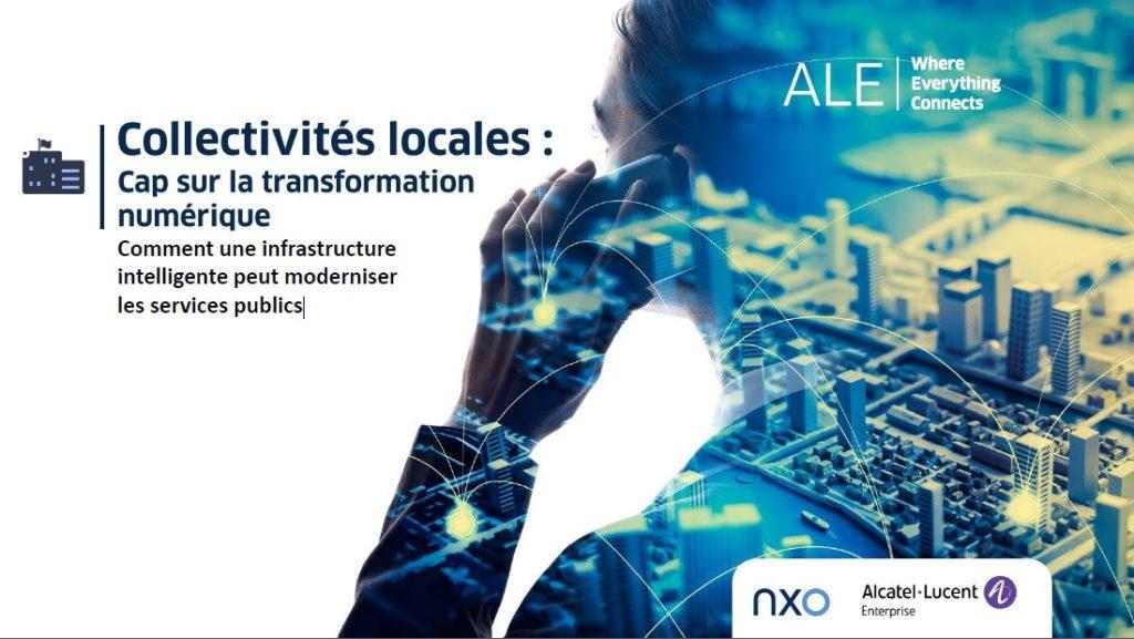 Transformation numérique des collectivités - Alcatel - NXO France