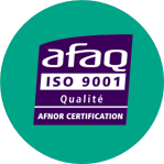 Logo ISO 9001 NXO