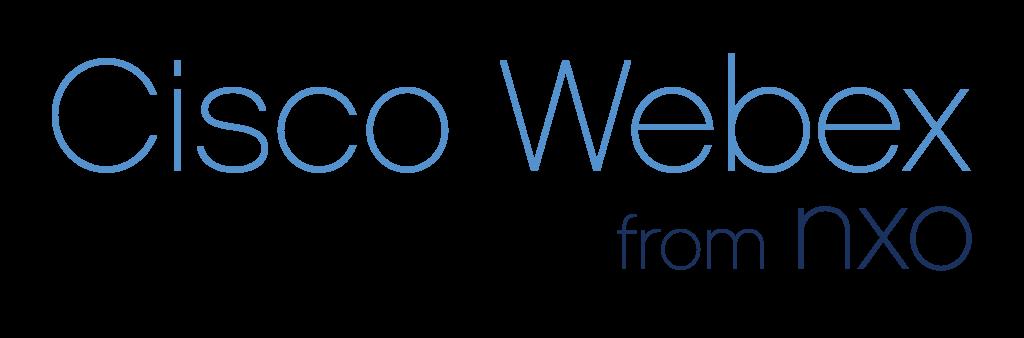 Cisco webex from NXO logo