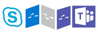 De Skype vers Teams - logos - NXO