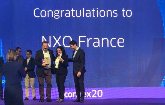 NXO récompensé par Alcatel au Connex 2020