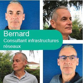 Bernard, consultant infrastructures NXO