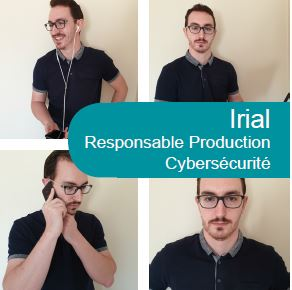Irial, responsable production cybersécurité NXO