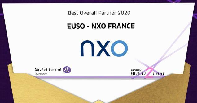NXO reçoit le prix du meilleur partenaire ALE Europe du sud 2020
