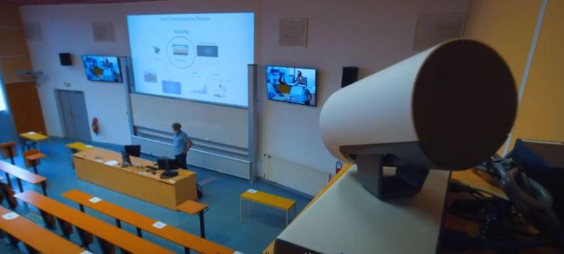 Université de Poitiers téléenseignement NXO Webex
