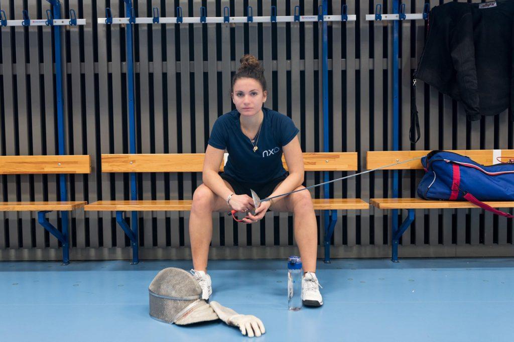 NXO soutient Coline Suzanne, jeune escrimeuse et sportive de haut niveau